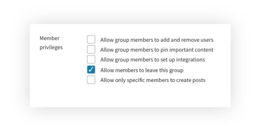 leave-group