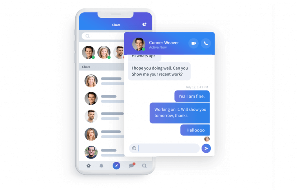 Instant Messaging & Video Calling